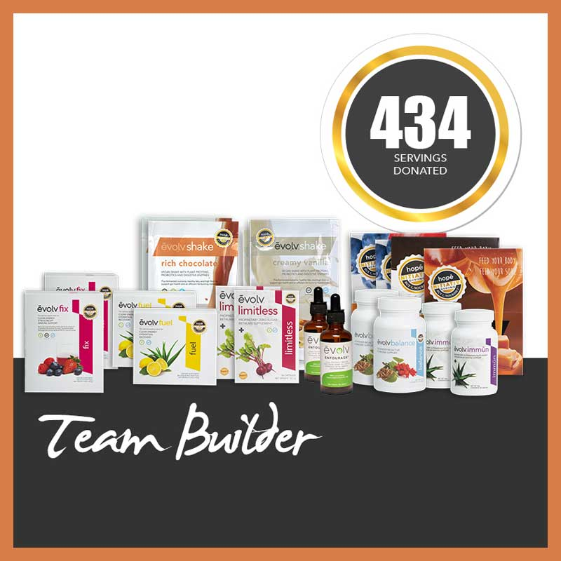 Evolv Products Bundle Team Builder Kit